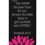 jeremiah 29 11 iphone cover