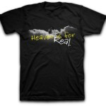 Heaven Is For Real Adult T-Shirt - Black