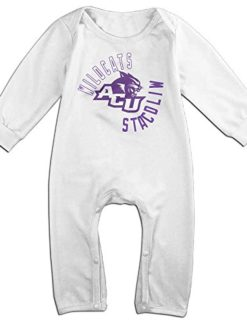 Abilene-Christian-Wildcats-Geek-Long-Sleeves-Variety-Baby-Onesies-Bodysuit-For-Toddler-0