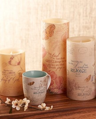 Floral-Inspirations-Collection-Flickering-Flameless-Wax-Pillar-Candle-0