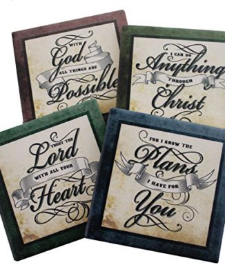 Inspirational-Scriptures-Coaster-Set-of-4-Encouraging-Verses-to-Protect-Your-Furniture-Christian-and-Spiritual-Gifts-and-Decor-0