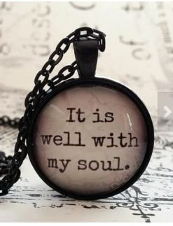 It-is-well-with-my-soul-glass-dome-necklace-pendant-gift-idea-hostess-gift-favor-key-ring-Hymn-religious-gift-Christian-gift-idea-0
