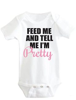 Little-Adam-Eve-Baby-Girl-Feed-Me-And-Tell-Me-Im-Pretty-Onesie-0