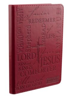 Names-of-Jesus-Burgundy-Flexcover-Journal-0