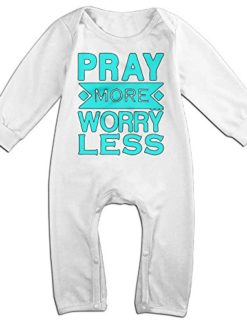 Pray-More-Worry-Less-Christian-Baby-Onesie-Romper-Jumpsuit-Bodysuits-0